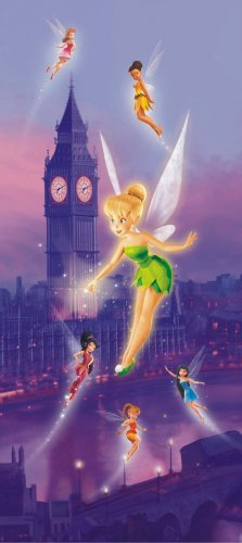 Türtapete Fototapete Disney Tinkerbell Feen Tinker Bell 90x202cm