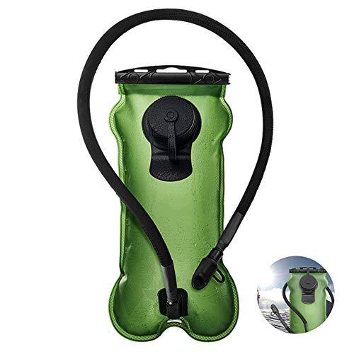 Vessie d'hydratation - sac de boisson de 3 litres pour l'extérieur, élargissement conception boucle, matériaux respectueux de l'environnement, non toxique et sans goût, pour les randonnées en camping