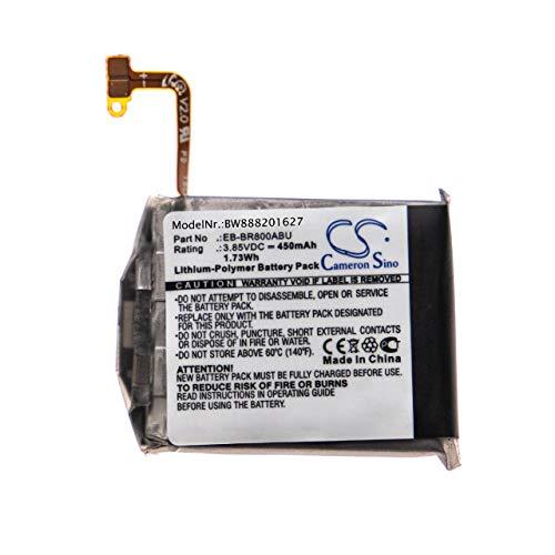 vhbw batería Compatible con Samsung Galaxy Watch SM-R800 46mm, SM-R805 46mm smartwatch Reloj de Actividad (450mAh, 3,85V, polímero de Litio)