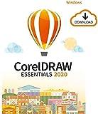 CorelDRAW Essentials 2020 | Software de diseño gráfico | 1 Dispositivo | PC | Código de activación PC enviado por email