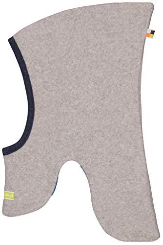 loud + proud Baby-Unisex Schlupfmütze Fleece Aus Bio Baumwolle, GOTS Zertifiziert Mütze, Grau (Grey Gr), 41/43 (Herstellergröße: 74/80)