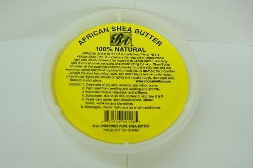 Afrikaanse Shea Butter 100% Natuurlijke 8oz door RA Cosmetics door RA cosmetica