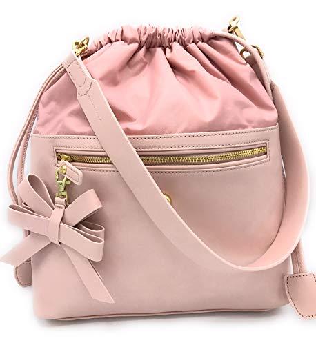 Unbekannt Jette Damen Tasche Rucksack Henkeltasche Handtasche rosa H 36x31