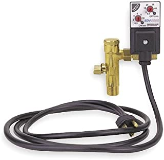 112 / 120 V EDV-2000 Electronic Drain Valve with 0.5 NPT Outlet Pipe Connection and 0.44