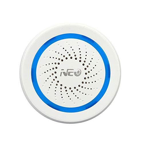 NEO Coolcam Z-Wave Plus Sirena de alarma con puerto de carga USB