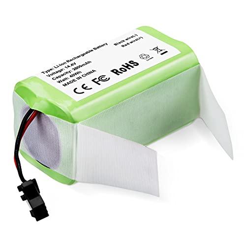 Powerextra Batería de Repuesto 14.4v 2800mAh Compatible con Conga Excellence 990 950 1090 Ecovacs Deebot N79S DN622 Eufy RoboVac 11 11S 11S MAX 30 15C 15T 12 35C IKOHS NETBOT S14 S15