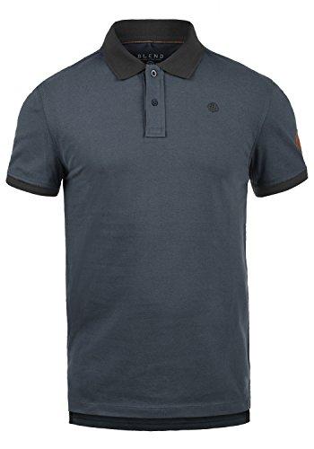 Blend Ralf Herren Poloshirt Polohemd T-Shirt Shirt Mit Polokragen Aus 100% Baumwolle, Größe:XXL, Farbe:India Ink (70151)