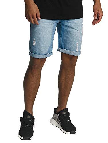 Rocawear Herren Jeans Relaxed korte pasvorm RWJS001LBLUD licht wassen