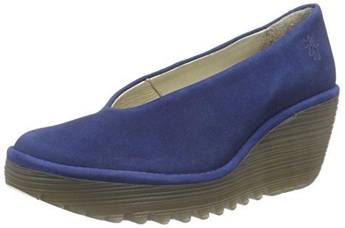 Fly London YAZ, Damen Geschlossene Sandalen, Blau (BLUE 191), 35 EU