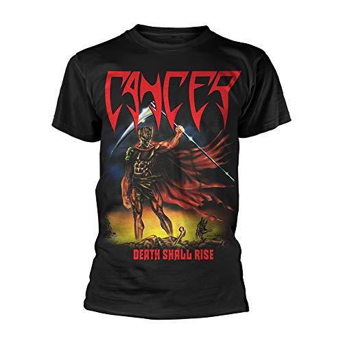 Cancer Death Shall Rise (Black) Ufficiale Uomo Maglietta Unisex (X-Large)