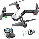 SANROCK U52 Drone with 1080P HD Camera for Adults and Kids, WiFi Live Video FPV Drone...