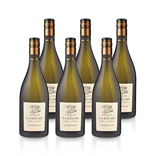 2019 Chardonnay Weißwein 'Les Vignes de Madame' Domaine de la Baume 6x 0,75L IGP Vin de Pays d'Oc Frankreich