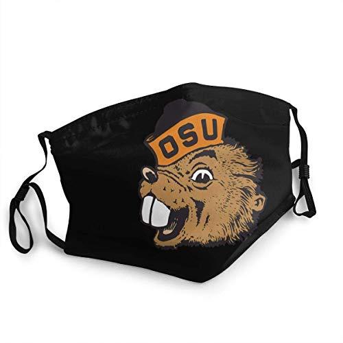 alemon Genrics Gesichtsschutz Sport Sturmhauben für Universitätsfußball- oder Basketballfans Weiche Mundschutz mit verstellbarem Ohrbügel