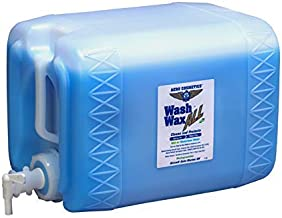 Wet or Waterless Car Wash Wax 5 Gallons. Aircraft Quality for Your Car, RV, Boat, Motorcycle. Wash and Wax Anywhere, Anytime, Home, Office, School, Garage, Parking Lots.