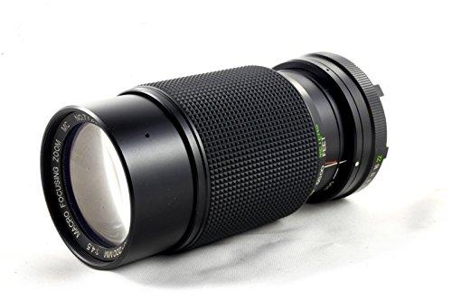 Vivitar 80–200mm Minolta md-Mount Manueller Fokus Zoom Objektiv