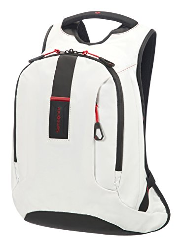 Samsonite Paradiver Light - Rucksack M, 40 cm, 16 L, Weiß (White)