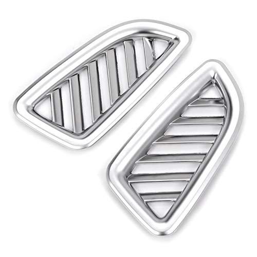 ZXZCV Cubierta de ventilación para salpicadero de aire acondicionado para Mercedes Benz GLC 200 260 300 2015-2020 accesorios de coche (nombre del color: plata)