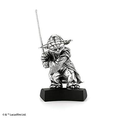 Royal Selangor 017861R Yoda Figurine, 1, Pewter