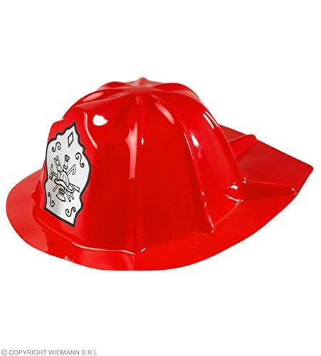 Generique - Casque Pompier Rouge Enfant