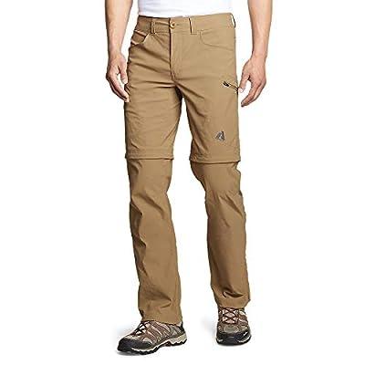 Eddie Bauer Men's Guide Pro Convertible Pants, Saddle Regular 36/34