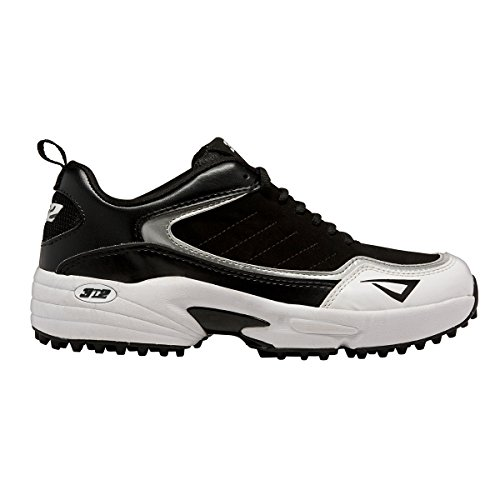 3N2 Men's Viper Turf Trainer, Black, 8.5