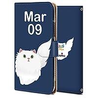 iPhone XR ケース 手帳型 アイフォン XR カバー スマホケース おしゃれ かわいい 耐衝撃 花柄 人気 純正 全機種対応 誕生日3月9日-猫 アニメ かわいい アニマル 9370336