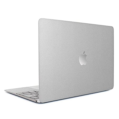 wraplus for MacBook Air 13 インチ M1 2020 2019 2018 対応 全31色 [アップルシルバー] スキンシール フィルム ケース カバー