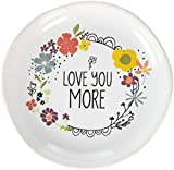 Pavilion Gift Company Love You More Jewelry Dish with Gift Packaging