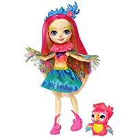 Enchantimals-FJJ21 Muñeca Peeki Parrot, multicolor (Mattel FJJ21)