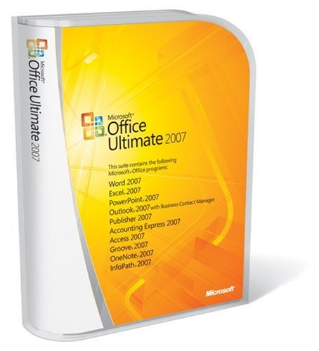 Microsoft Office Ultimate 2007, 1PK, Complete Product