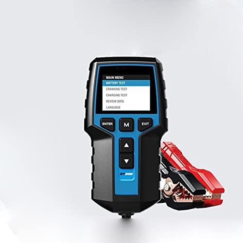 WJTMY BT200 12V. Auto Battery Tester Digital Automotive Diagnostic Battery Tester Tester Analizzatore Veicolo a carrello per caricare lo strumento Scanner