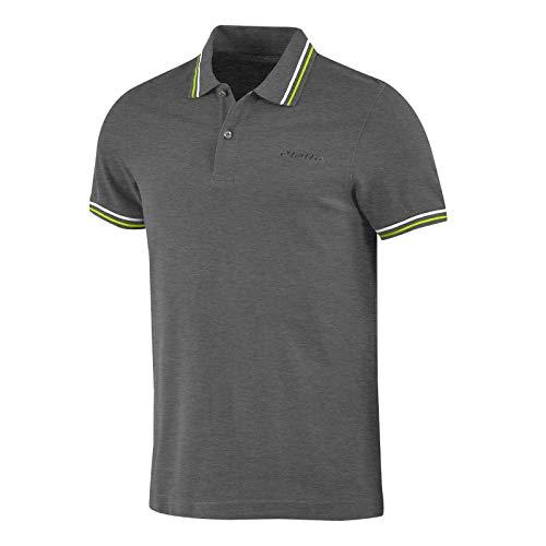 Lotto Polo Uomo T-Shirt Piquet Cotone Mare Tennis Barca Calcio Sport L73 PQ PJ Taglia M Colore Principale Gry BLD/Grn LTN