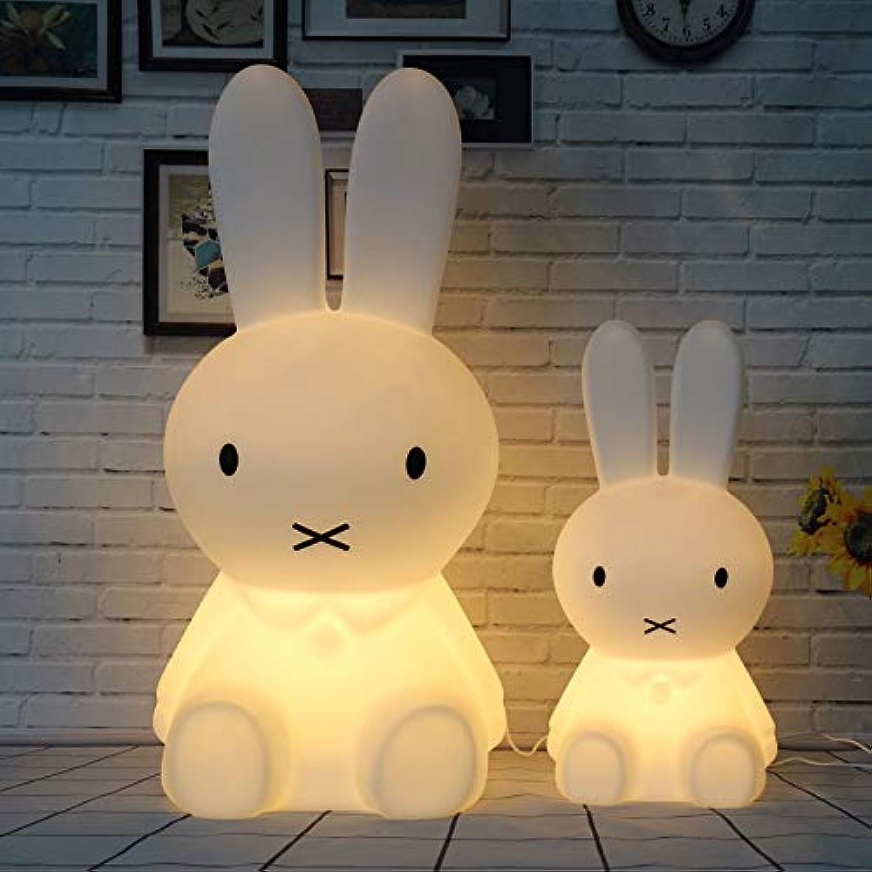 Dimmbare kaninchen licht led baby kinder nachtlicht kinder geschenk tier cartoon nacht schlafzimmer wohnzimmer dekorative beleuchtung