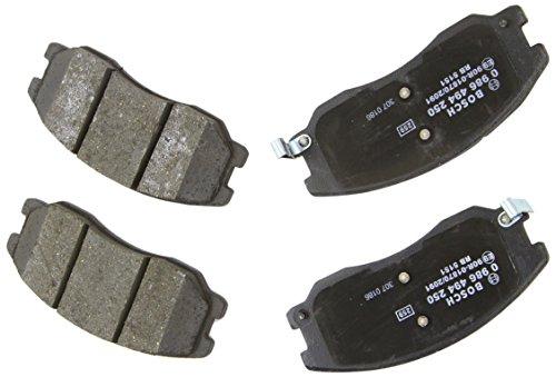 Preisvergleich Produktbild Bosch 986494250 Bremsbelagsatz - (4-teilig)