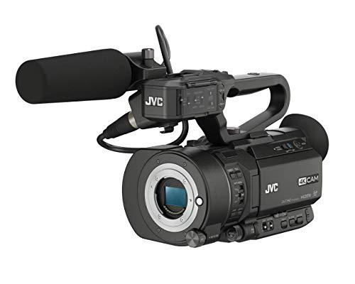 JVC GY-LS300CHU Ultra 4K HD 4KCAM Super 35 Pro Camcorder & Top Handle Audio Unit