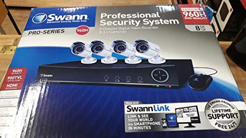 Swann DVR8-4100 Alámbrico 8channels - Kit de videovigilancia (Alámbrico, Bala, BNC, 18 m, Aluminio, Horizontal)