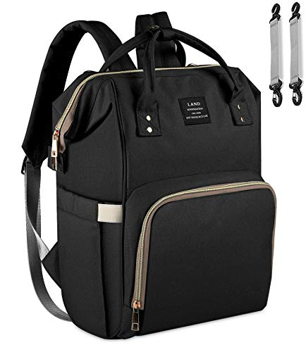 Diaper Bag Backpack - Ticent Multifunction Travel Back Pack Large Maternity Nappy Bag Baby Changing Bags with Stroller Straps, Waterproof and Stylish
