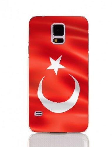 ArktisPRO 1122552 Turkije vlaggen hoes voor Samsung Galaxy S4 mini