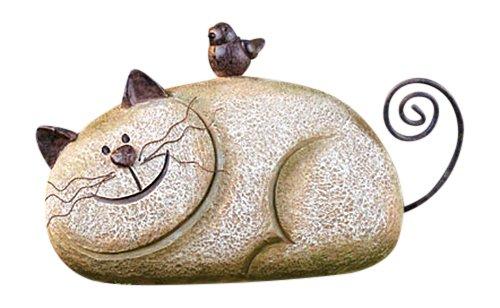 Stone Garden Cat Garden Lawn Ornament