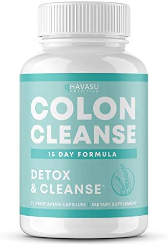 Colon Cleanse for Detox and Weight Loss 15 Day Fast Acting Extra Strength Detox Cleanse and product image