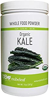Nubeleaf Kale Powder - Non-GMO, Gluten-Free, Raw, Organic, Vegan Source of Fiber & Essential Amino Acids - Single-Ingredie...