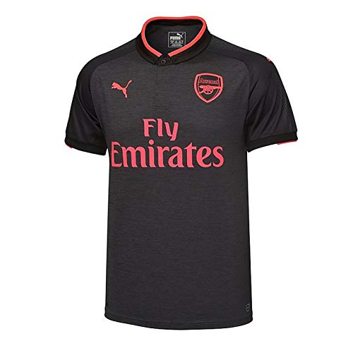 Arsenal FC Official Soccer Gift Boys Third Kit Shirt Dark Grey 11-12 Years