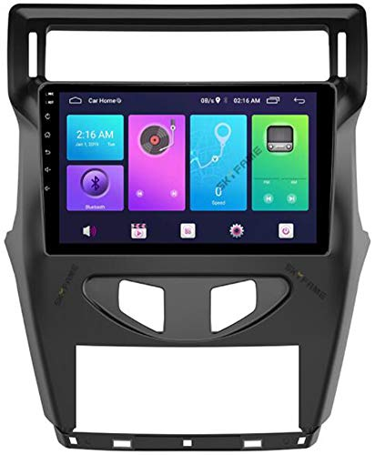 Android 9.0 para Citroen C4 C-Triunfo C-Quatre 2012 Radio de Coche Estéreo Unidad Principal de 9 Pulgadas Pantalla táctil Navegación GPS de FM/RDS BT WiFi USB Mirror Link Player,WiFi 1g+16g