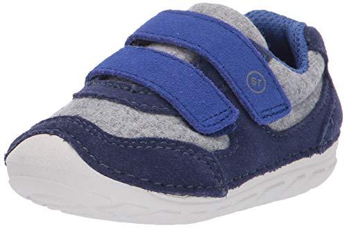 Stride Rite Boys' SM Mason Sneaker, Navy, 6 M US Toddler