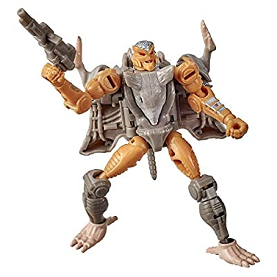 Transformers Toys Generations War for Cybertron: Kingdom Core Class WFC-K2 Rattrap Action Figure - Kids Ages 8 and Up, 3.5-inch by Hasbro