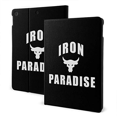 Iron Paradise i-Pad case,for Ipad 7th Generation 10.2 Inch,Premium Leather Folio Stand Cover (Auto Wake/Sleep) IPD-3570