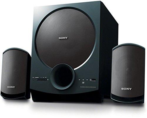 Sony SA-D20 C E12 60 Watt 2.1 Channel Wireless Bluetooth Multimedia Speaker (Black)