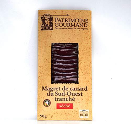 Patrimoine Gourmand getrocknete Entenbrust- Scheiben aus dem Südwest-Frankreich 90g.