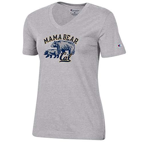 Champion U.C. Berkeley Cal Mom Bear T-Shirt-Grey
