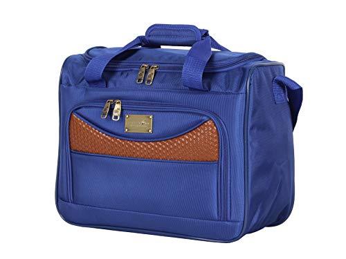 Caribbean Joe Luggage Castaway Suitcase 16' Boarding Tote (Royal Blue)